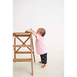 forte Kids T-shirts (White / Pink) - General Price