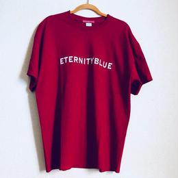 """【一点限り特別プライス】展示品forte""""ETERNITY BLUE""""T-shirts(Antique Red)"""