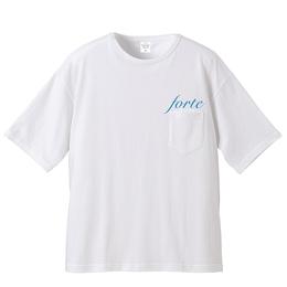 "18SS forte Big Silhouette PocketT-shirts""POOL""- General Price"
