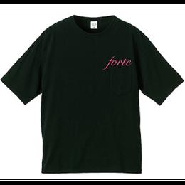 "18SS forte Big Silhouette PocketT-Shirts""SAKURA""- General Price"