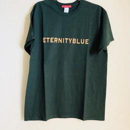 """【一点限り特別プライス】展示品forte""""ETERNITY BLUE""""T-shirts(Forest Green)"""