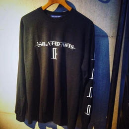 "【展示品特別プライス】iSOLATED ARTS""SHADOW""L/S T-shirts(Black)"