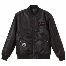 【予約商品】forte Original MA-1 Jacket (ALL BLACK)-ORDER MADE