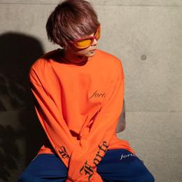 """【一点限り特別プライス】展示品""""King""""T-shirts (Orange)"""