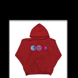 18FW iA-Peace-Hoodie (Red)