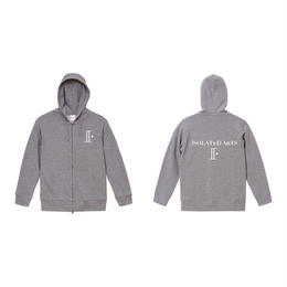 18SS / iSOLATED ARTS High Grade Double Zip Hoodie(Gray)