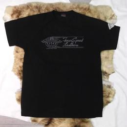 ラグランスリーブTシャツ サンプル製品 Black L/1着 TS-103