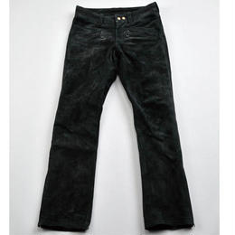 RIDING LEATHER PANTS  COWHIDE