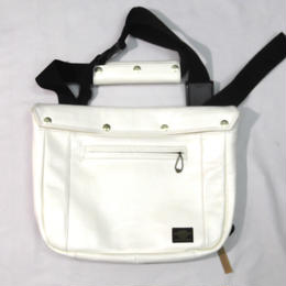 Shoulder Bag  Cowhide Vegetable tanning  Off white