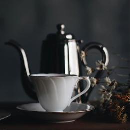 大倉陶園 コーヒーカップ&ソーサー