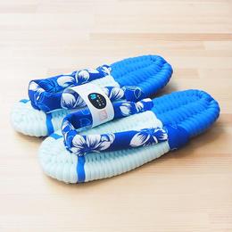 ふっくら布ぞうり/ハワイアン:ブルー 25〜29cm