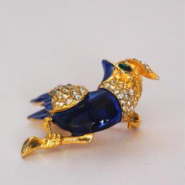 青い鳥のブローチ(BR0068)