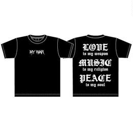 【MY WAR】 BIG T-SHIRTS