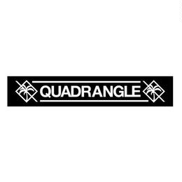 【QUADRANGLE】 MUFFLER TOWEL
