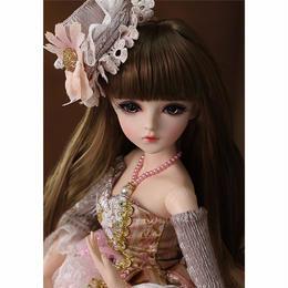 60cm 1/3 サイズ エレガント ピンクドレス ビューティアイ かわいい 女の子 球体関節人形 BJD カスタムドール リアルドール A1318