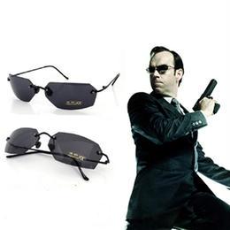 マトリックス エージェントスミス風 サングラス メガネ 眼鏡 レプリカ 映画 小道具 衣装 コスプレ A1335