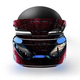 PSVR かぶっておもしろ 0001 スキンシール 保護 シール シート PS VR PS4 A1310