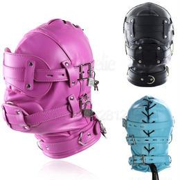 PUレザー 革 3色 ペニ枷セット ボンテージマスク 緊縛 ギャグマスク 仮装 コスプレ フェチ SMグッズ♪ A1323