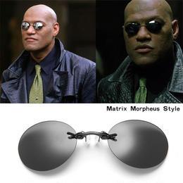 MATRIX マトリックス モーフィアス サングラス 黒 メガネ 眼鏡 レプリカ 映画 小道具 衣装 コスプレ A1314