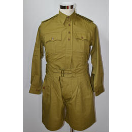 【複製品】WW2イギリス軍カーキードリルユニフォーム 上下セット