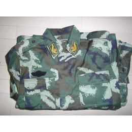 中国武装警察07式夏季迷彩服(肩章式)