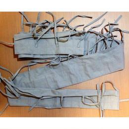 WW2中国軍小銃用布製弾帯ブルーグレー色(複製品)