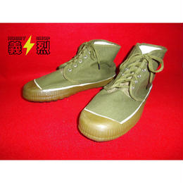 中国軍キャンバスシューズ・共産軍・人民靴