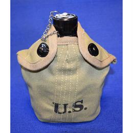 (複製品)WW2米軍M1941水筒 アルミ合金製