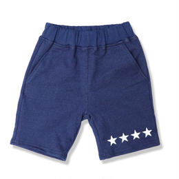 INDIGO  SWEAT  SHORT  PANTS  FOUR  STAR