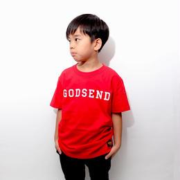 Collegiate T-Shirts WHITE  RED  BLACK