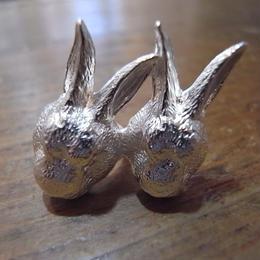 【CULOYON】 Les 2 lapins シルバー