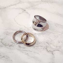 【Soierie】Liquid ring (3pcs)