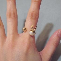 【BENEDICTE】 Rabbit Ring