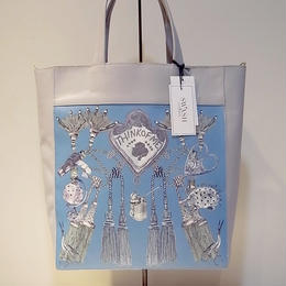 【SALE 20%OFF】SWASH PRINTED LEATHER TOTE THINK OF ME