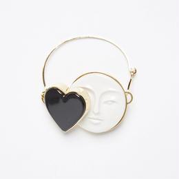 【ANDRESGALLARDO】 MOON HEART BRACELET