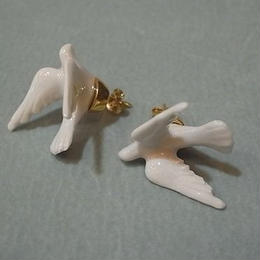 【ANDRESGALLARDO】 DOVE EARRINGS