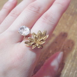 【CULOYON】 DUO RING -NIGHT FLOWER-