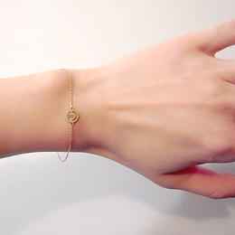 【KOMI】スマイルブレスレット K18 ダイヤモンド