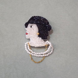 【marianne batlle】 COCO FACE WITH NECKLACE