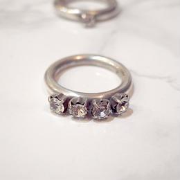 【Soierie】four bijou ring (1pc)