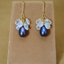 Moonstone Chapeau Earrings