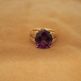 "Amethyst ""Super Star""Ring"