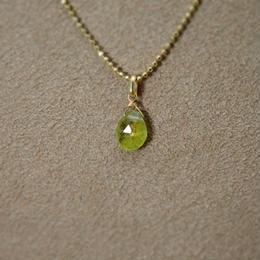 Green Garnet Pendant Top