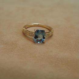 Santa Maria Africana Aquamarine Ring