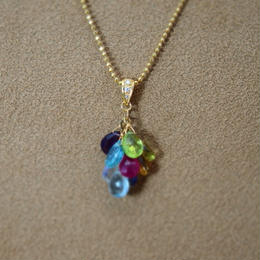ColorStone Prism PendantTop(+Diamond)
