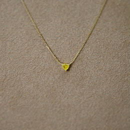 YellowDiamond Petit Necklace(t/g)