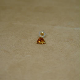 Citrine Single Earring(t/c)