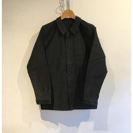 50's〜60's Black Moleskin coverall Good Condition