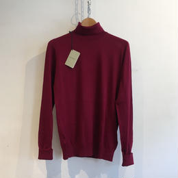 "JOHN SMEDLEY ""GRINDLEFORD"" Turtle Neck Sea Island Cotton"