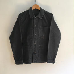 50's Black Moleskin Coverall